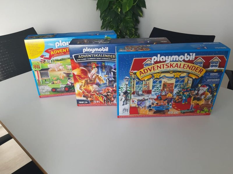 Die Playmobil Adventskalender